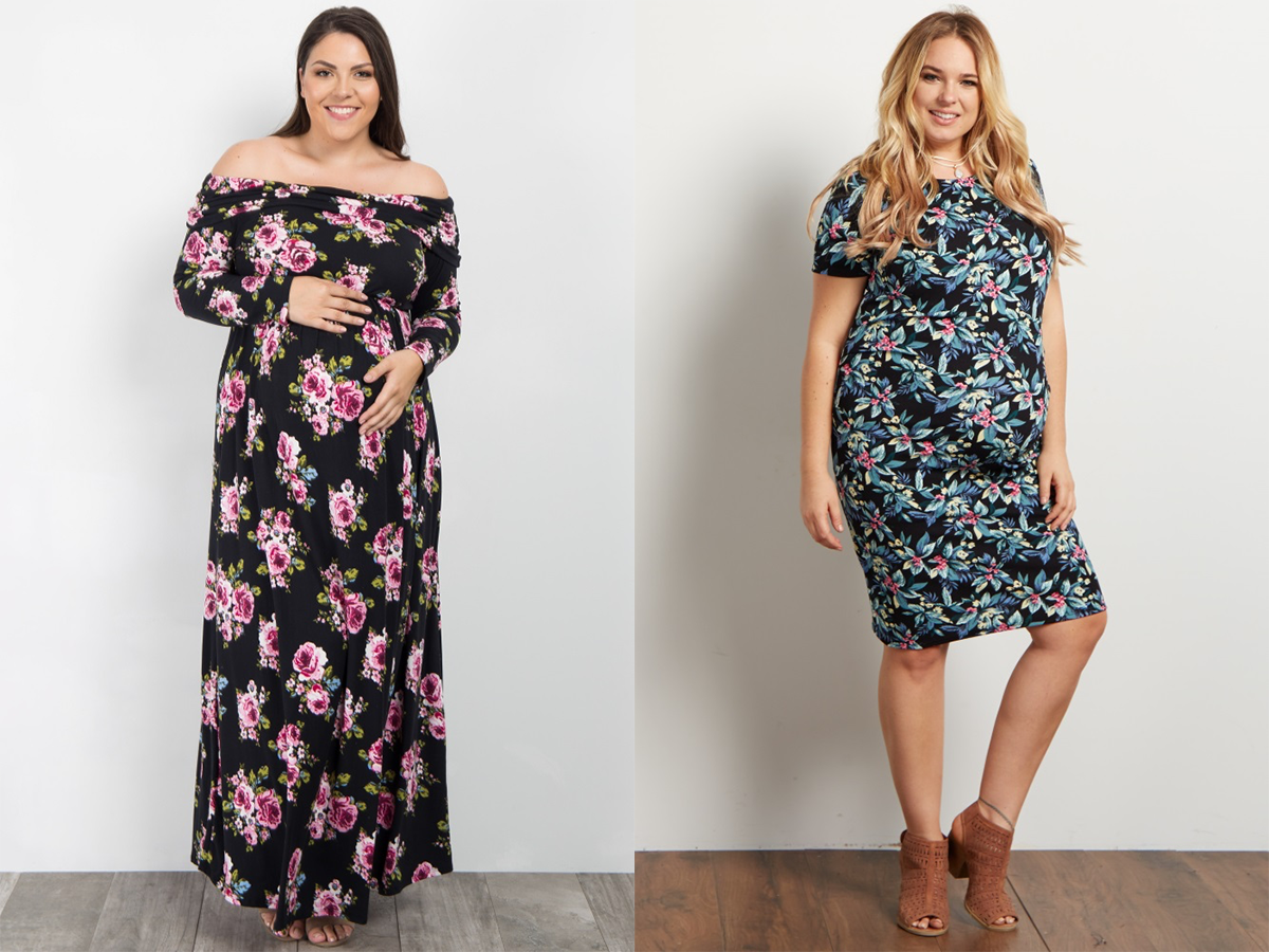 Plus Size Maternity Photo Shoot
