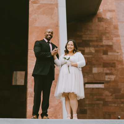 We Got Married! (Our Courthouse Wedding In Las Vegas)