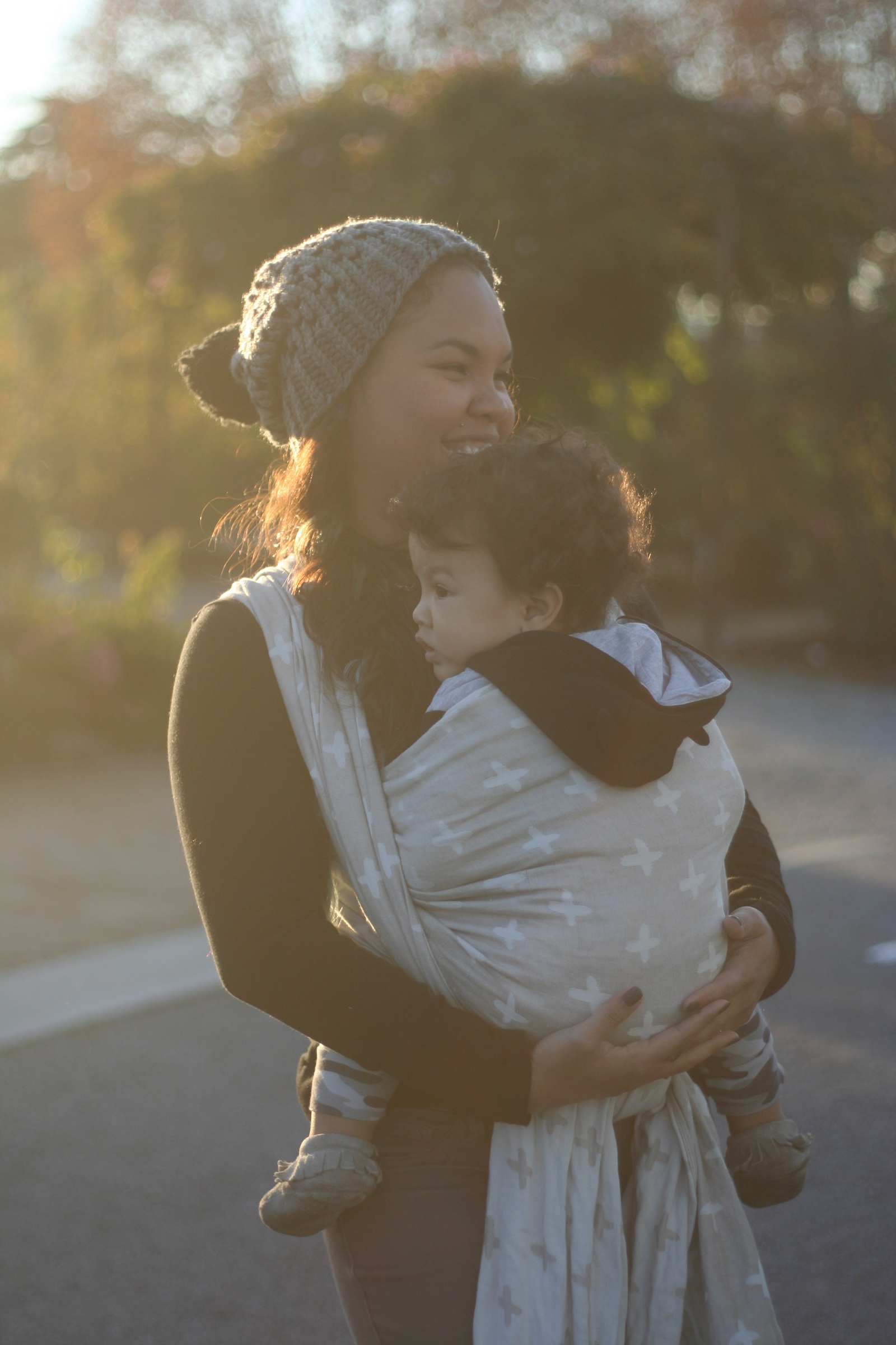 Interview With A Baby Wearing Mama