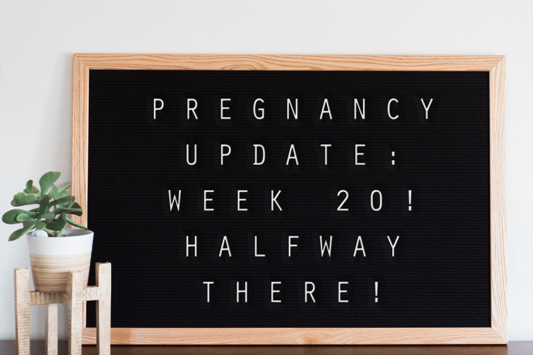 Pregnancy Update: Week #20! Halfway There!